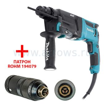 Перфоратор SDS-plus MAKITA HR-2611FTX5