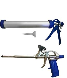 Ручной инструмент, защита Пистолеты для герметика, монтаж. пены